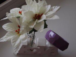 wunderschöner lila Blumarine Armreifen