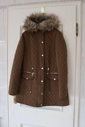 Zara Quilted Coat multicolored