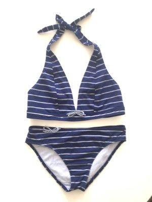 wunderschöner maritimer Bikini von DANIEL HECHTER * Gr. 36 S * NEU!