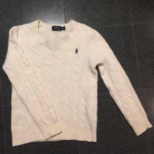 Ralph Lauren Pull en laine blanc cassé