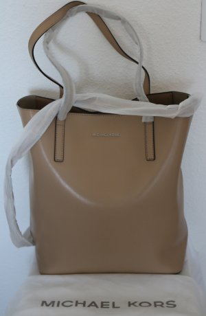 Michael Kors Shopper beige leather