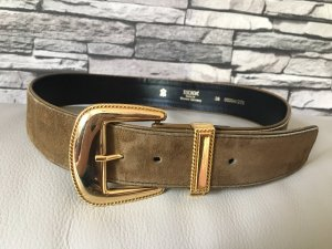 Escada Leather Belt beige