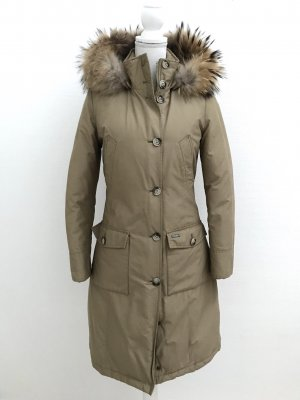 Woolrich Giacca lunga color cammello