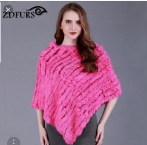 (The Mercer) NY Poncho multicolored