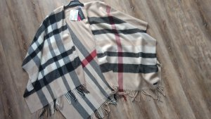 Fraas Poncho multicolored cotton
