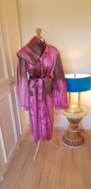 Prada Badjas violet-donkerpaars Zijde