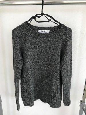 Only Pull tricoté gris-gris clair