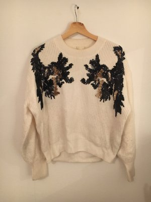 H&M Oversized Sweater natural white