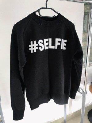 Sweater zwart-wit