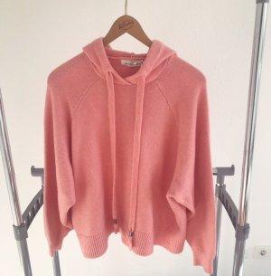 H&M Capuchon sweater lichtrood-zalm