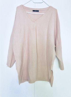 Mango Oversized Sweater pink-dusky pink