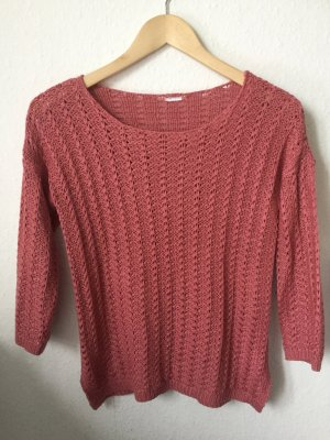 Only Pullover all'uncinetto magenta