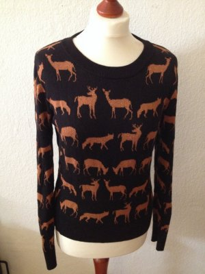 Wunderschöner Pullover mit Wintermotiv