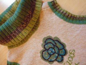 Mexx Cardigan en maille fine multicolore laine mérinos