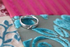 Wunderschöner Ring mit einem Brillianten