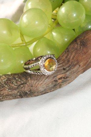 Anello argento-giallo