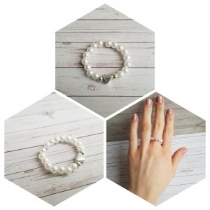 Ring wit-zilver