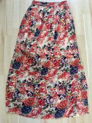 Vero Moda Maxi gonna multicolore