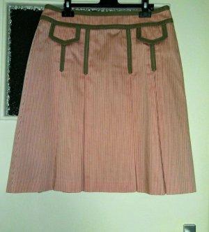 Ann LLewellyn Plaid Skirt multicolored cotton