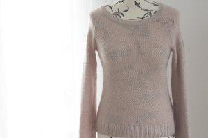 Wunderschöner Rosa Pullover mit leichtem Silberschimmer