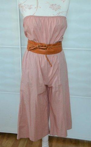 wunderschöner rosé farbener Overall / Jumpsuit Gr. 36