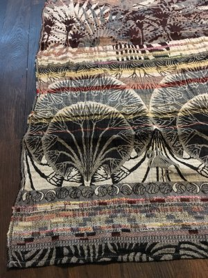 Wunderschöner Schal, handgewebt, Frankreich