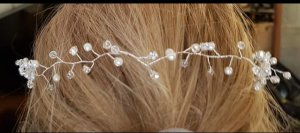 Bijou Brigitte Hair Accessory silver-colored