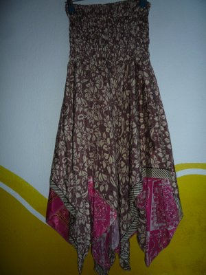 Silk Skirt multicolored silk