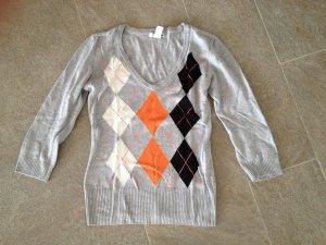 Wunderschöner Sommer-Pullover, grau, H&M, Größe S