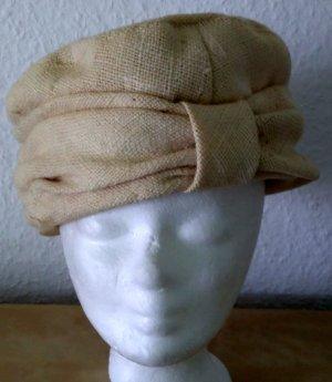 Cappello beige chiaro Lino