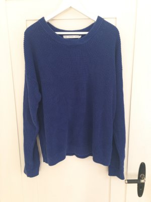 & other stories Coarse Knitted Sweater blue