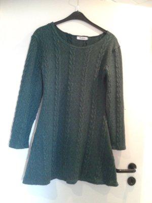 wunderschöner super weicher warmer Strickkleid Kleid Strickpullover Pullover A Linie