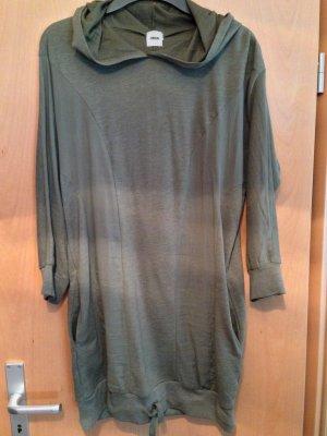 Wunderschöner Trend Hoodie/Kleid Khaki Asos