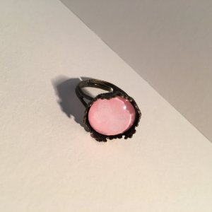 Ring bronze-colored-pink