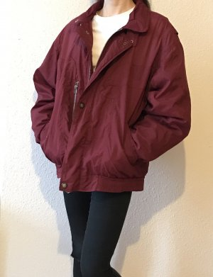 Vintage Giacca bomber rosso scuro