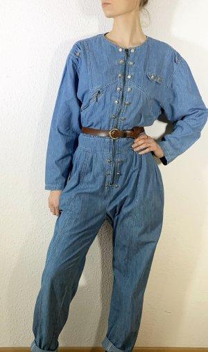 Wunderschöner vintage Jumpsuit/ Jeansjumpsuit/ Overall mit kleinen Nieten