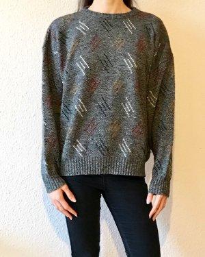 Wunderschöner vintage Pullover mit Retromuster