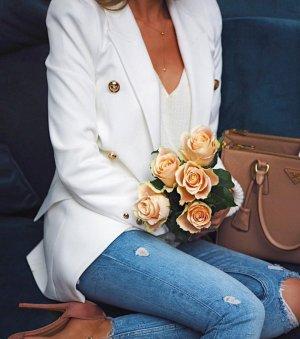 wunderschöner weißer blazer