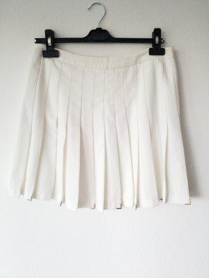 Zara Jupe blanc-argenté