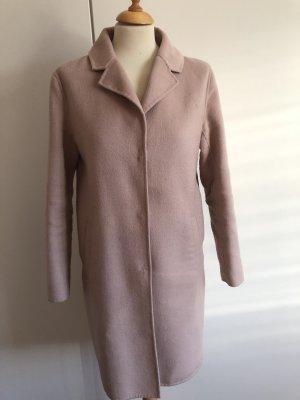 Hallhuber Cappotto in lana rosa chiaro