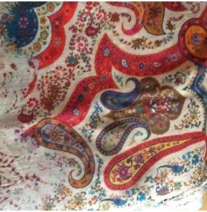 Écharpe en laine multicolore laine