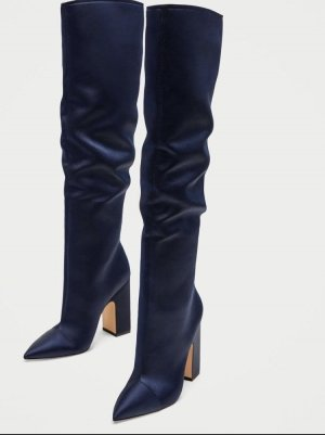 Zara Botte haute bleu