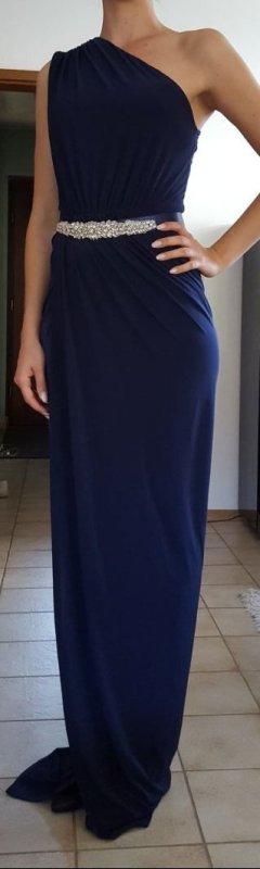 Wunderschönes Abendkleid dunkelblau