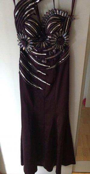 Wunderschönes Abendkleid in violett