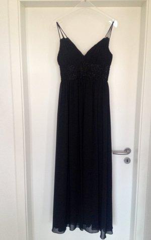 Wunderschönes Abendkleid von Jake*s, lang, schwarz, Gr 34, NP 140€