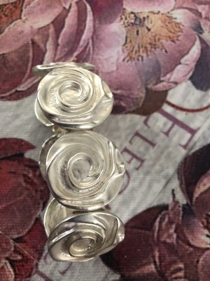 Bracelet silver-colored