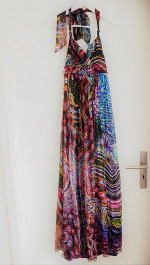 Barbara Schwarzer Ball Dress multicolored silk