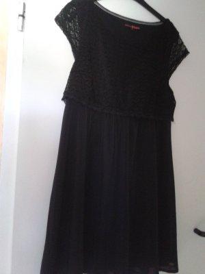wunderschönes besonderes basic Kleid - weiche Spitze - TOM TAILOR  DENIM