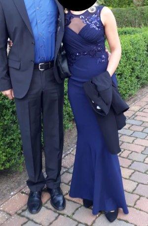 Wunderschönes blaues Abendkleid von LIPSY London