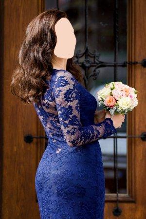 Wunderschönes blaues Abendkleid von OLVI'S